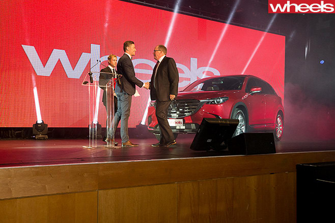 Wheels -Car -of -the -Year -2017-Australian -Motoring -Awards -on -stage