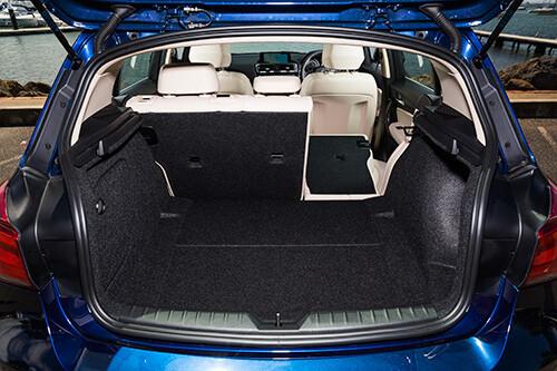 BMW 118i boot