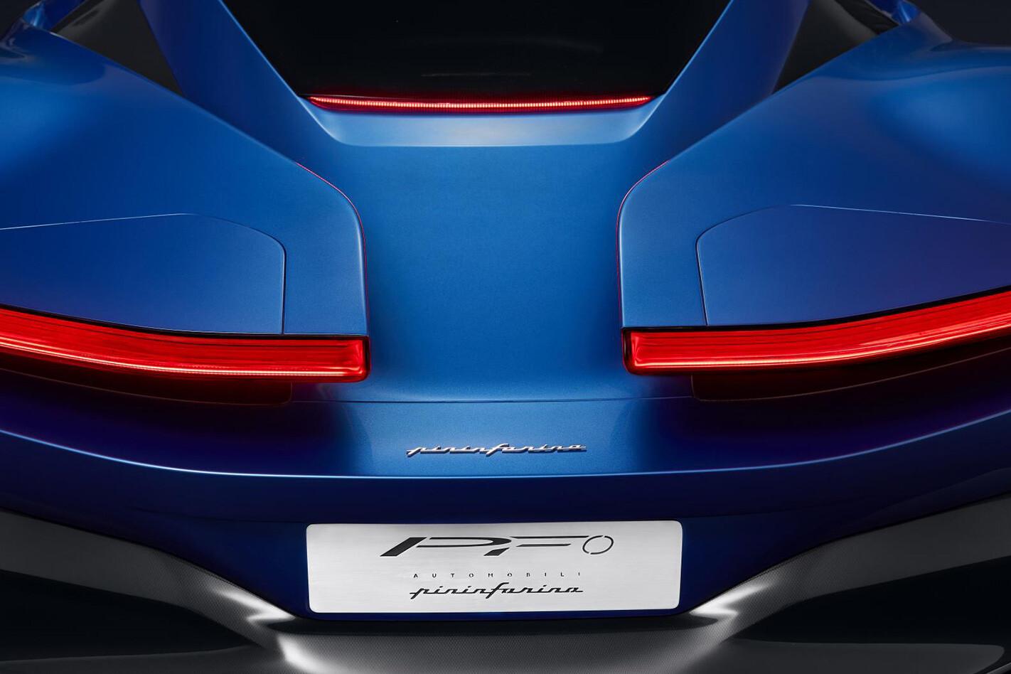 Pininfarina Pf 0 Rear Jpg