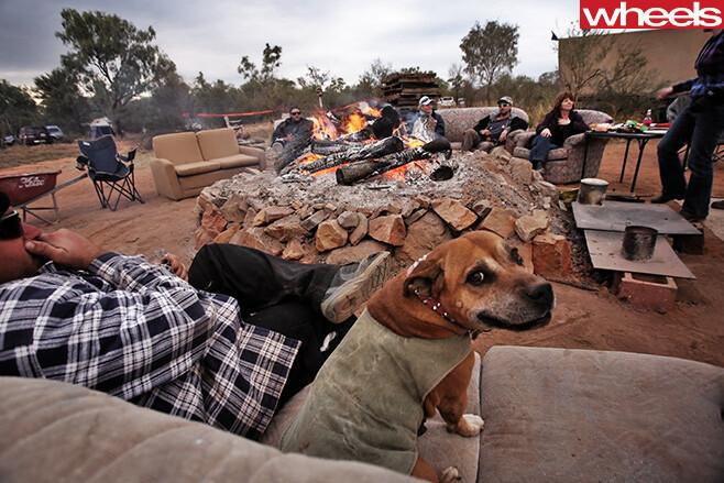 Finke -Desert -Race -camping -outback