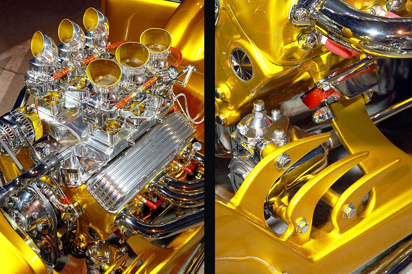 Ford Model T detail