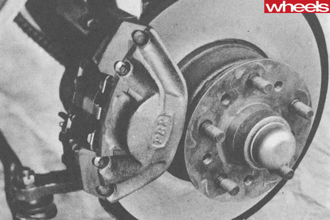1967-Ford -Falcon -Car -of -The -Year -brake -rotor