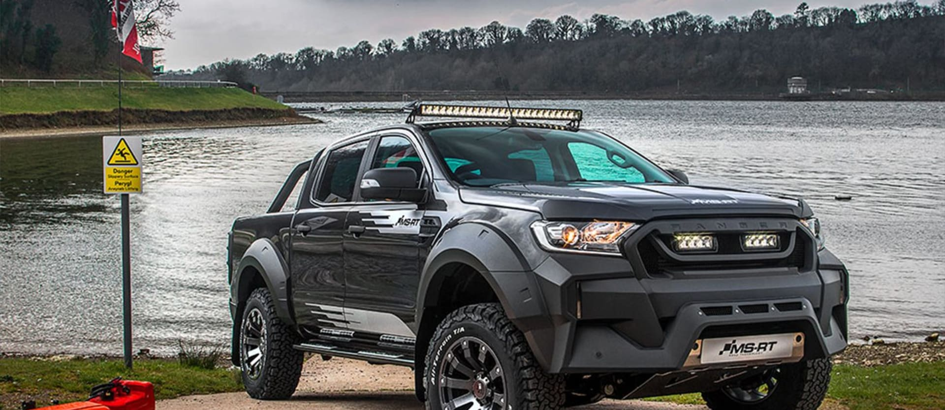 MS-RT Ford Ranger adds visual impact to dual-cab hero