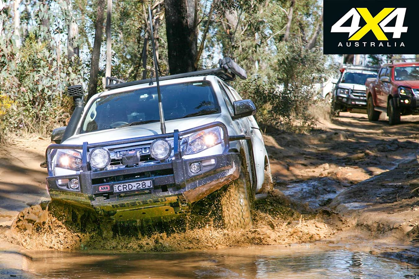 Isuzu I Venture Club In The Blue Mountains NSW ARB Kitted D Max Jpg
