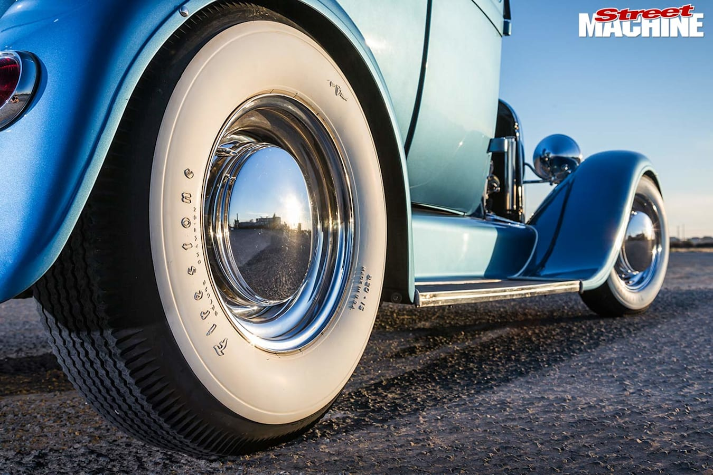Ford Model A Tudor wheel