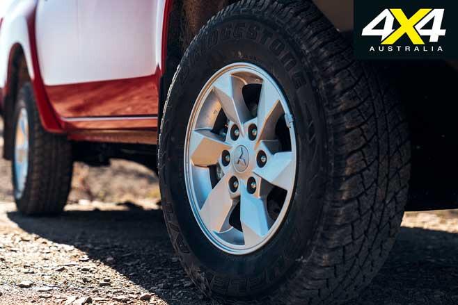 Mitsubishi Triton GLX Long Term Review Wheel Jpg