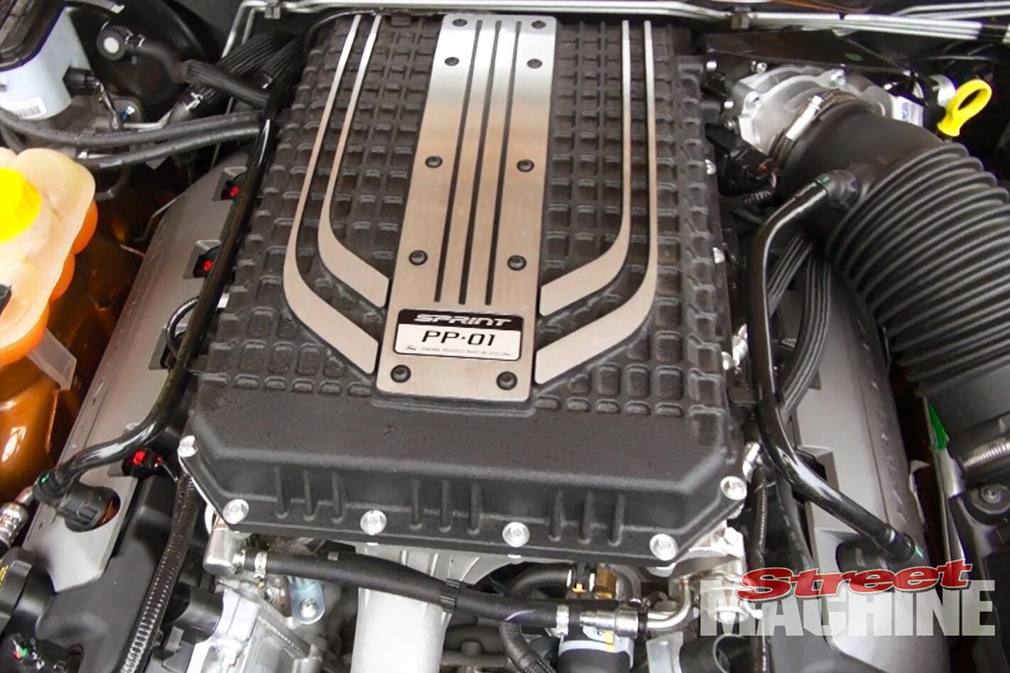Falcon XR8 Sprint engine
