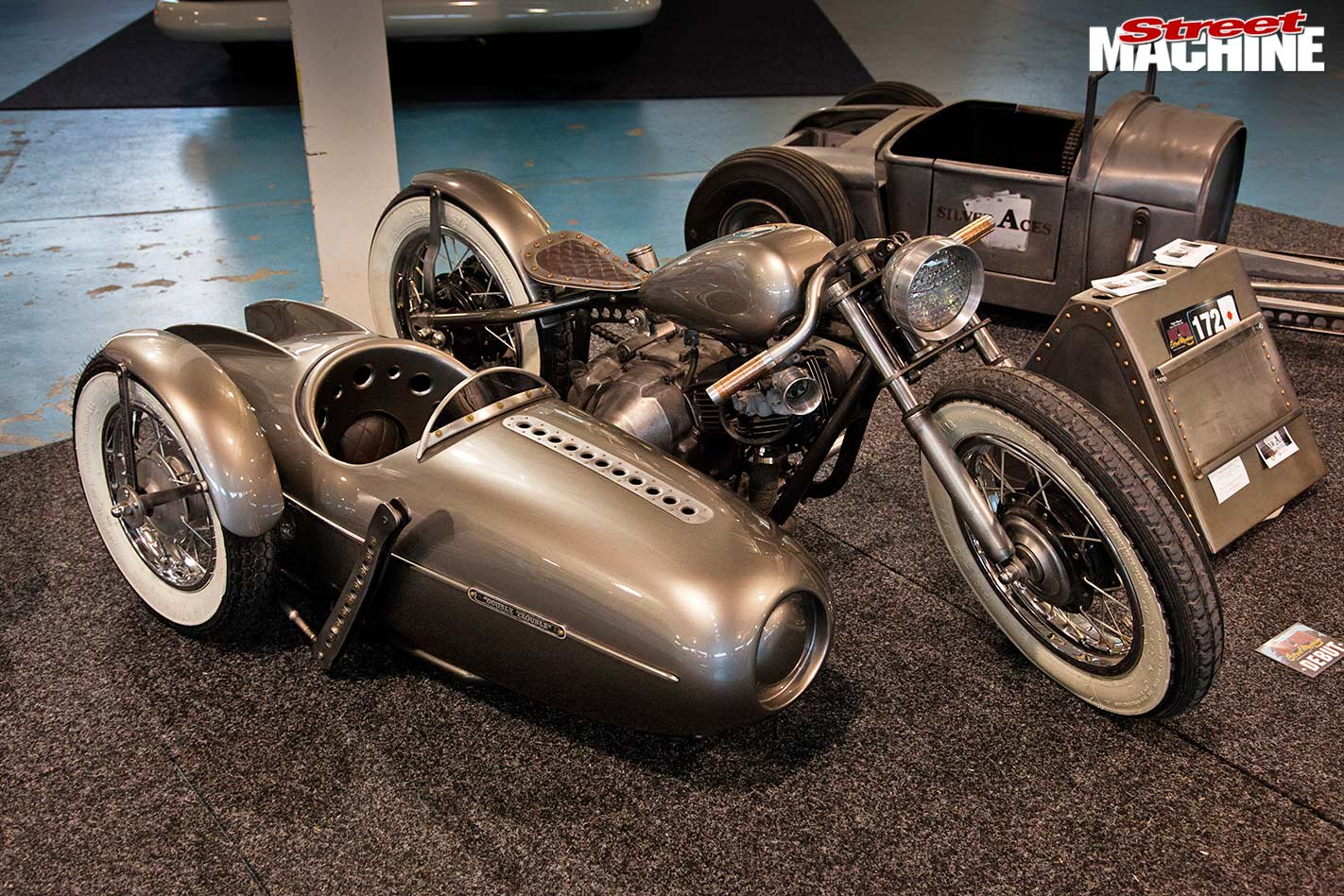 sidecar outfit at WA Hot Rod Spectacular