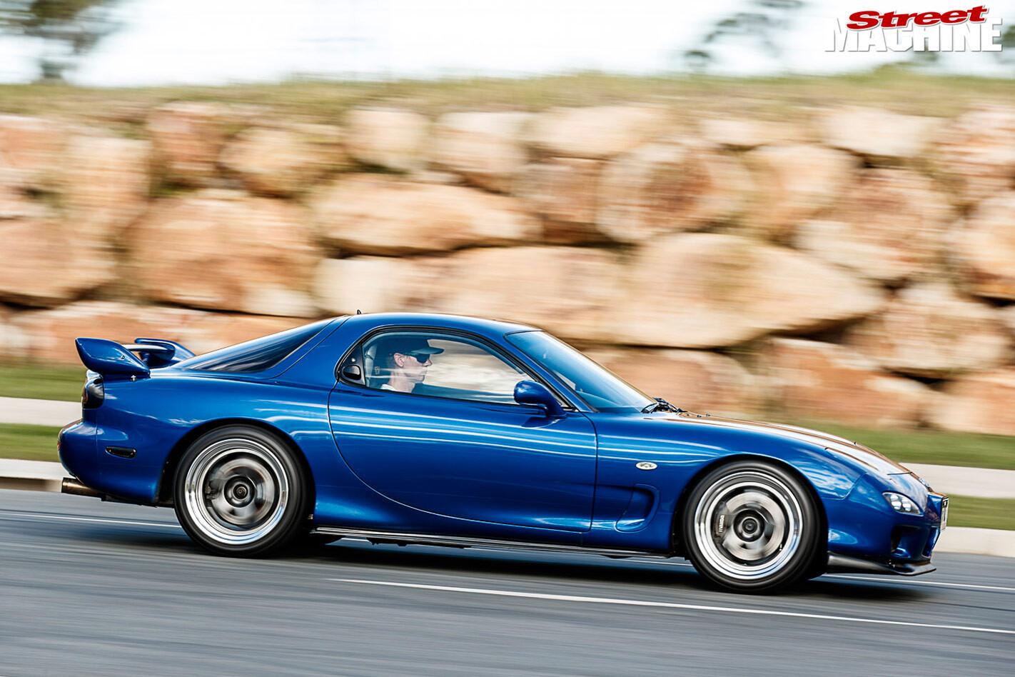 Mazda RX7 side