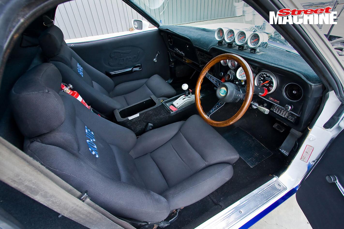 Ford XC Falcon Cobra Ute Interior