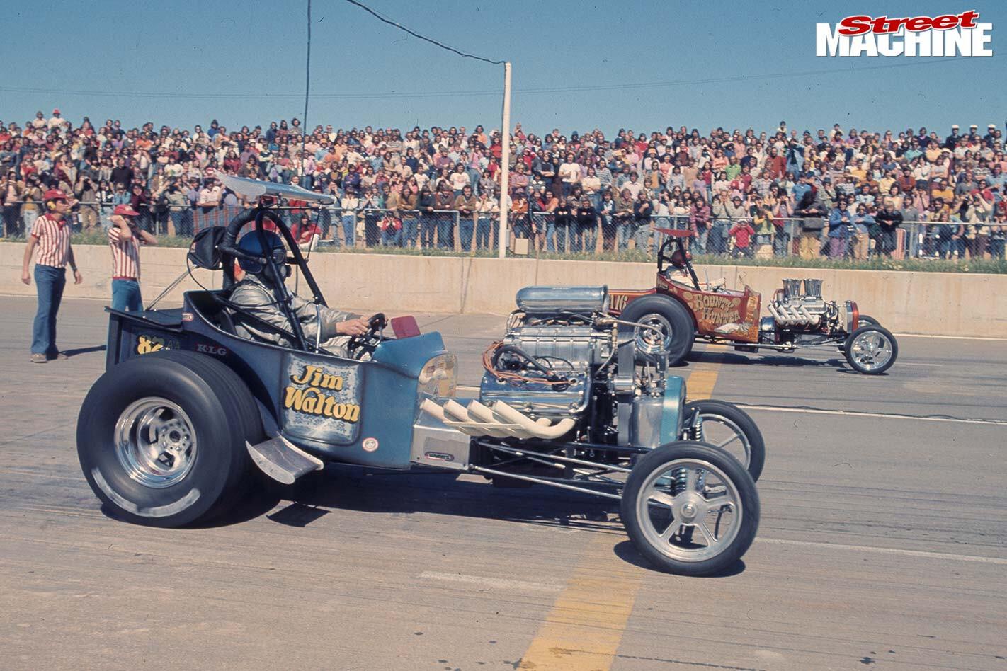 aussie drag racer Jim Wilton