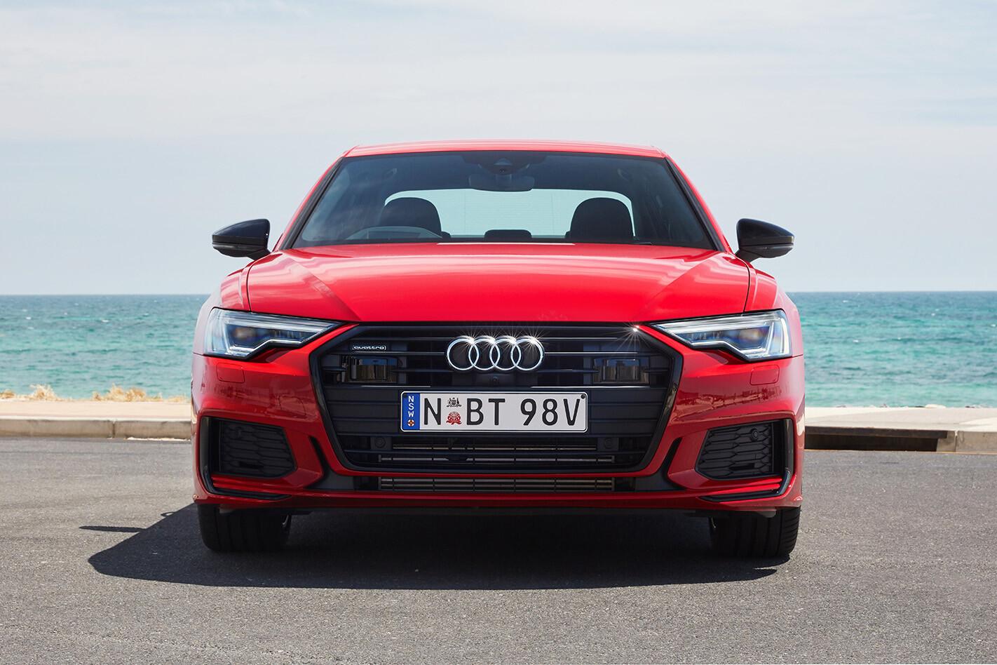 Audi A6 45 TFSI front end