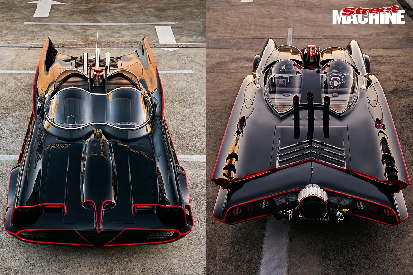 Lincoln Continental Batman tribute wheel