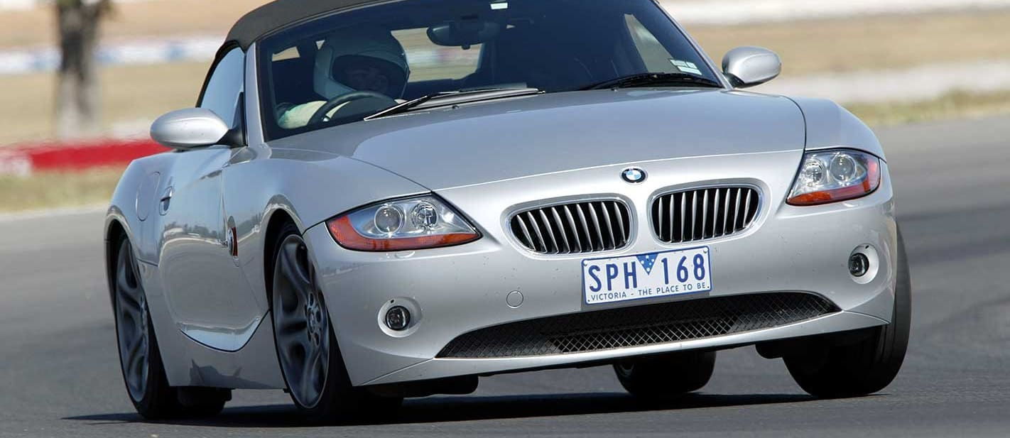 Performance Car of the Year 2004 6th place BMW Z4
