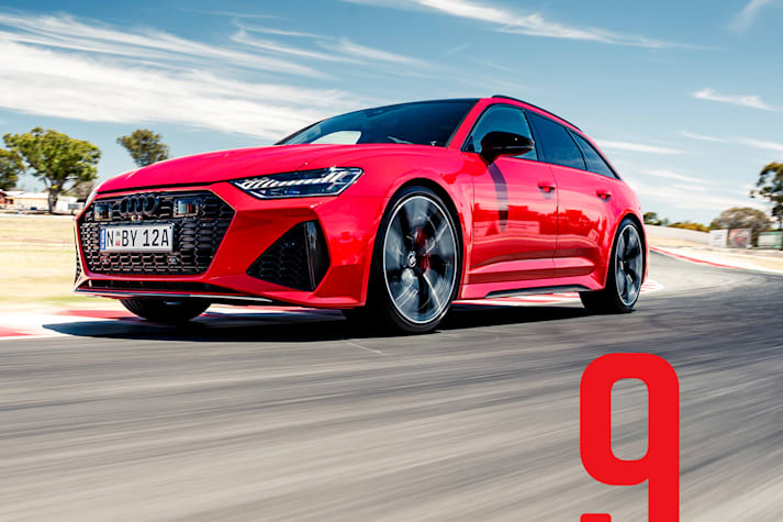 2021 MOTOR PCOTY 9th place Audi RS6 Avant