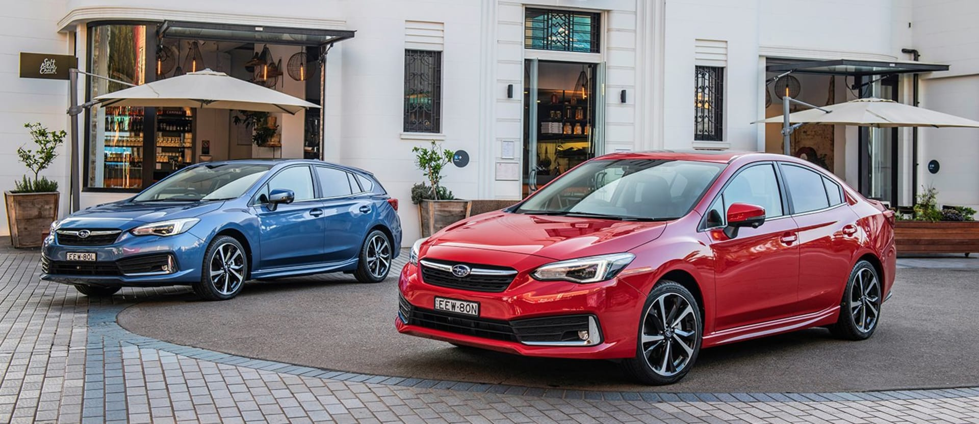 2020 Subaru Impreza hatchback and sedan