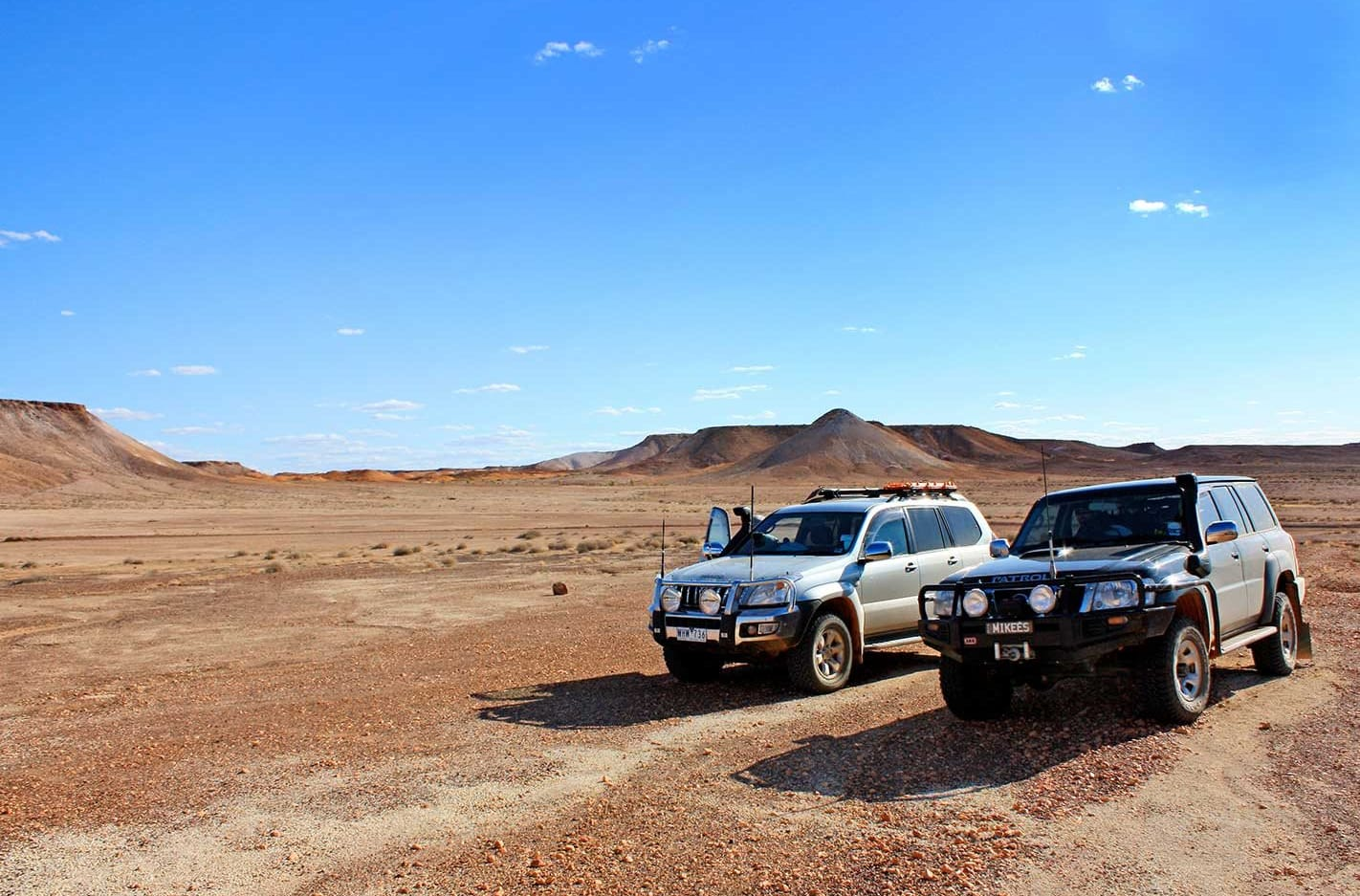 4x4 trip from Coober Pedy to Mt Dare SA