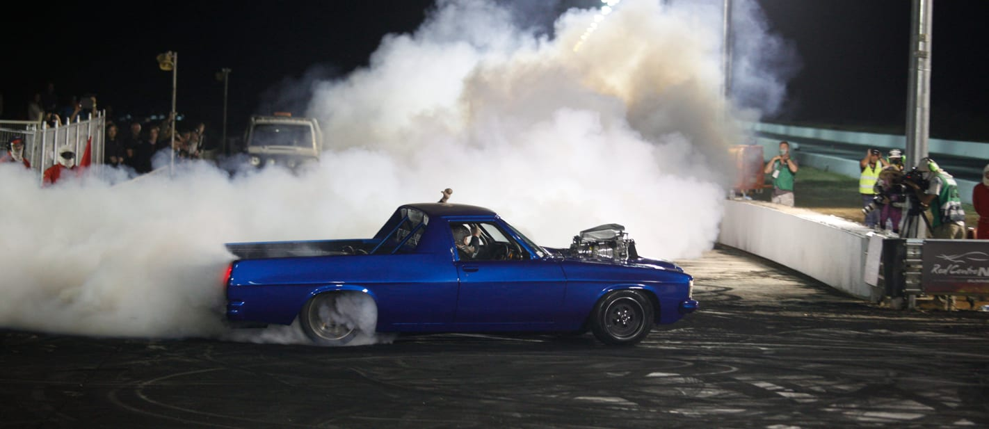 BLACKOUT burnout at Red CentreNATS