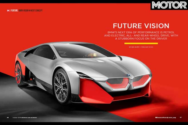 MOTOR Magazine October 2019 Issue BMW Vision M Next Concept Jpg