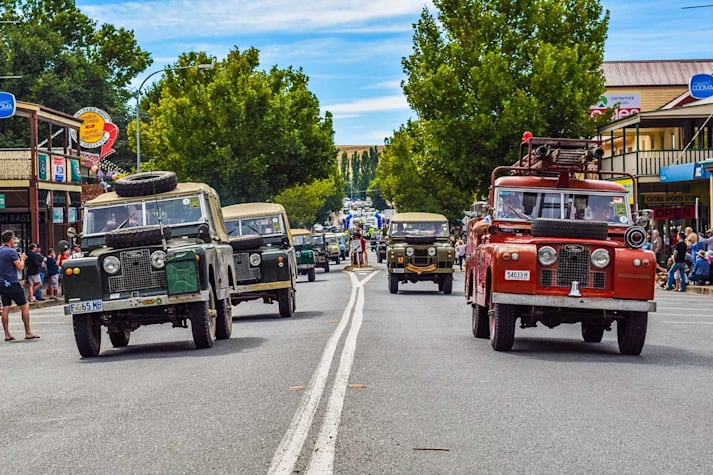 Land Rover 70th Anniversary celebrations Cooma NSW