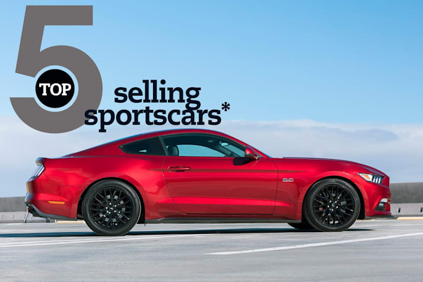 Top 5: Best-selling sportscars