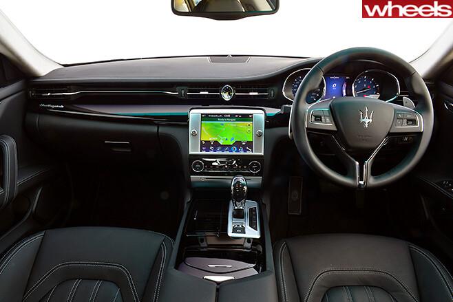 Maserati -quattroporte -330bhp -interior