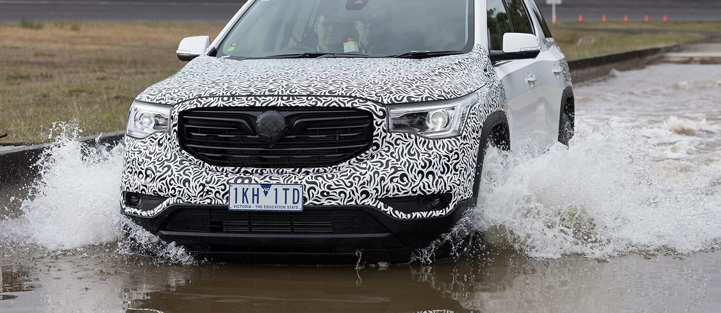 Holden Acadia first drive review