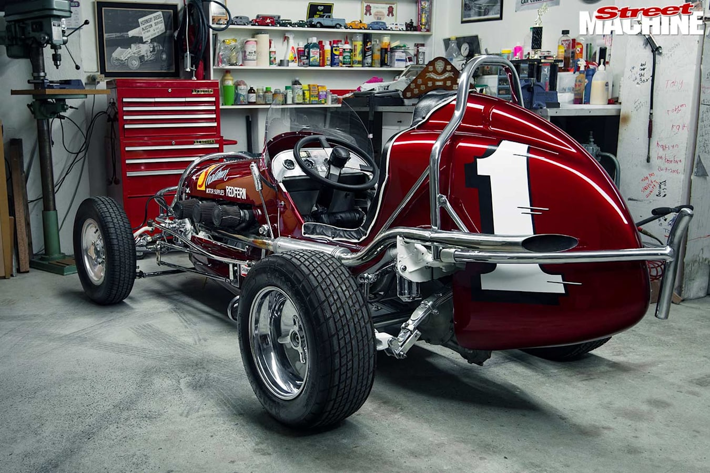 midget speedcar rear