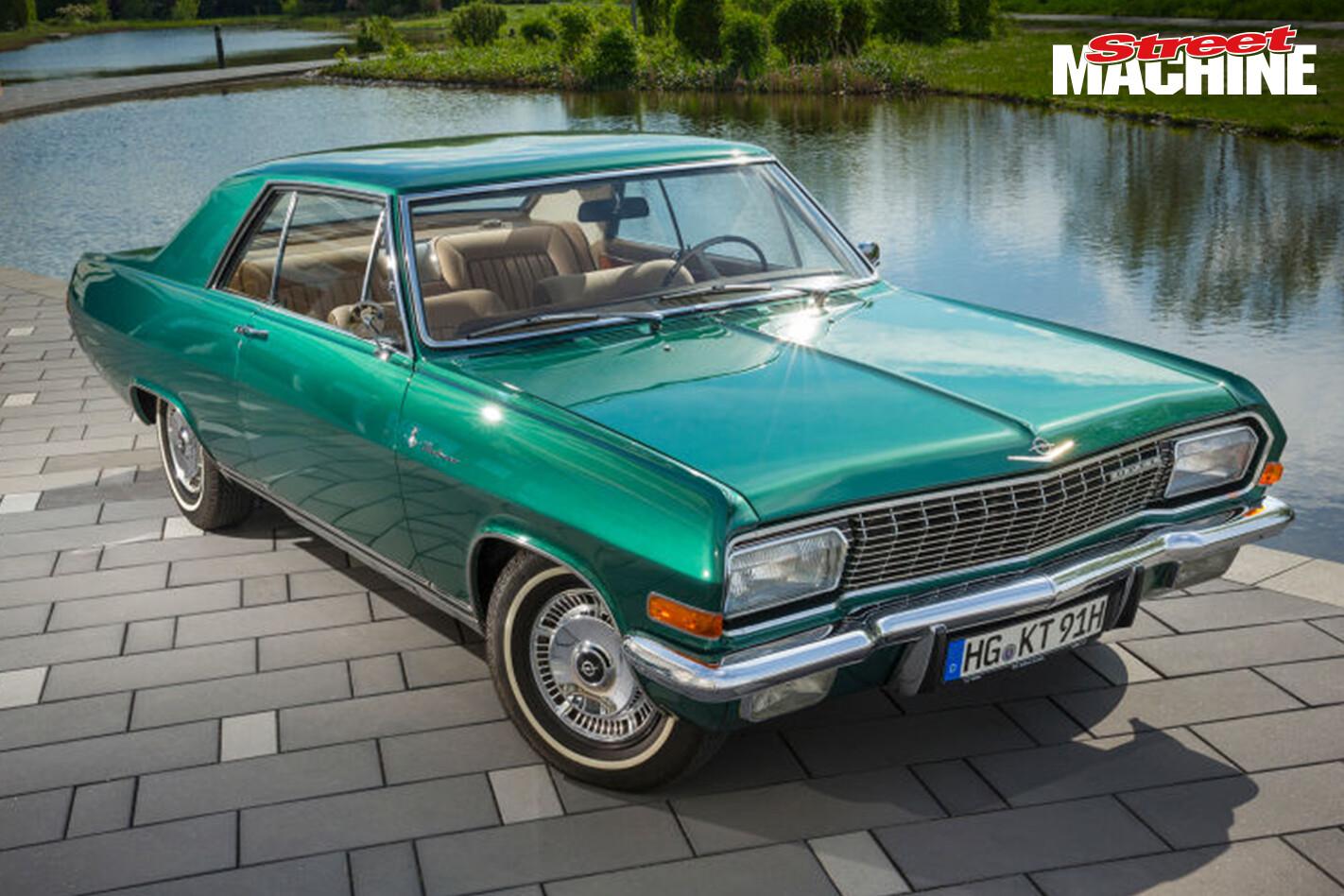 Opel 347 Diplomat V8 2 Nw