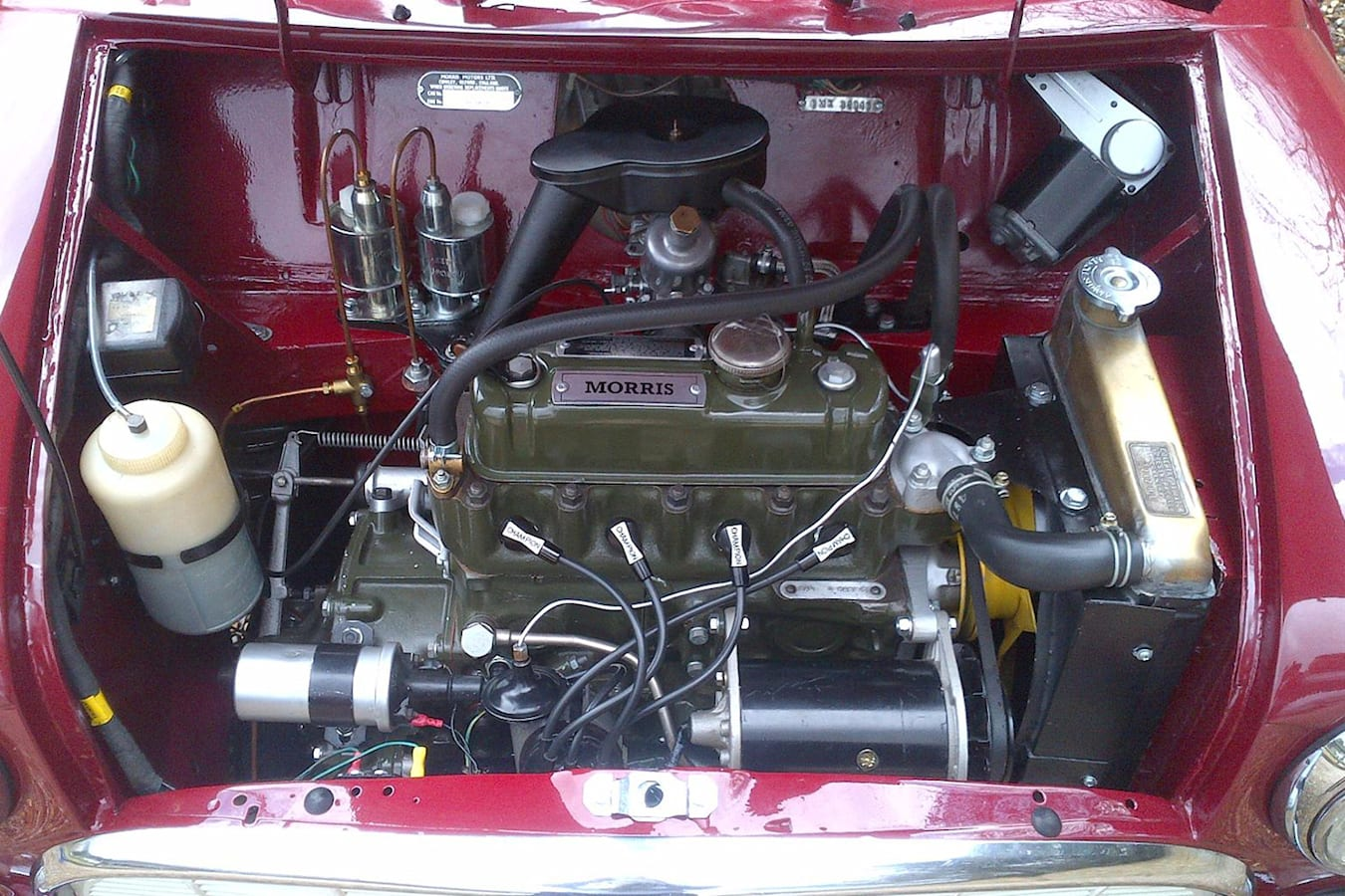 Morris Minor Engine Jpg
