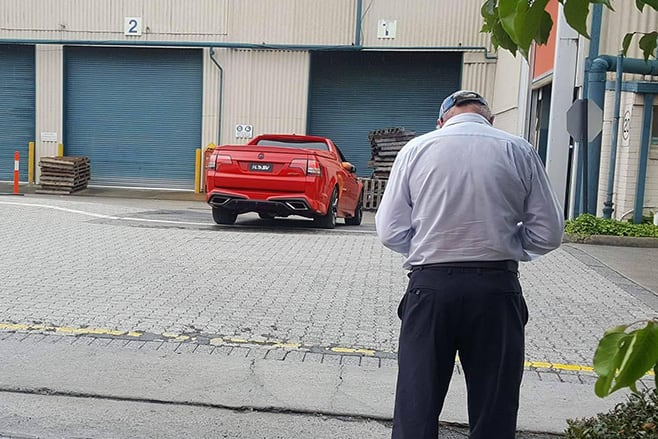 Holden -Ute -GTS-R
