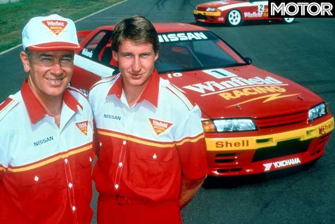 Fred Richards Mark Skaife 1992 Nissan R 32 Skyline GT R Group A Jpg