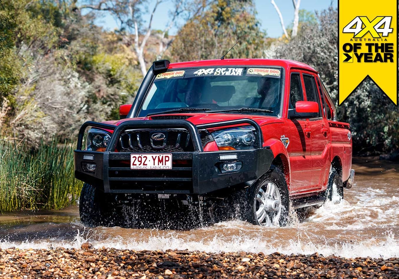 Mahindra Pik-Up S10 2019 4x4 of the Year contender