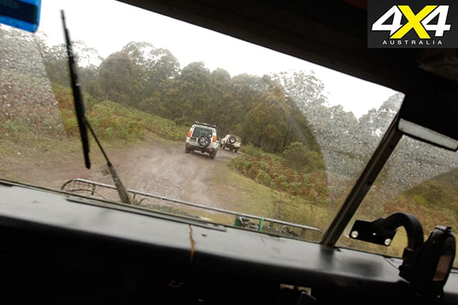 Driving the 4WD