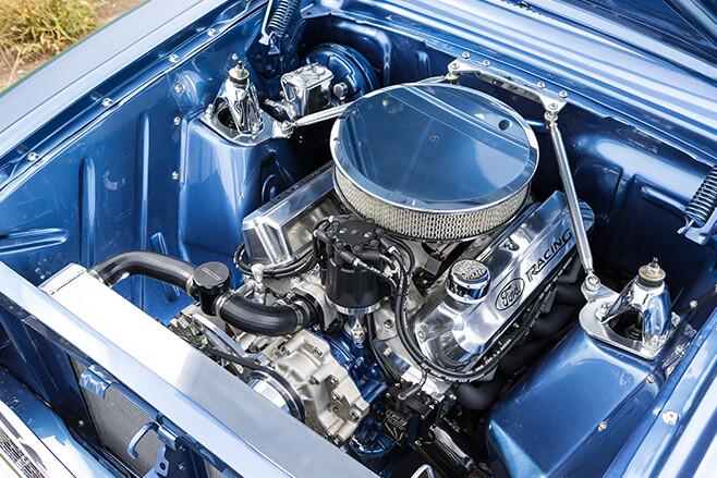 Ford XM Falcon engine bay