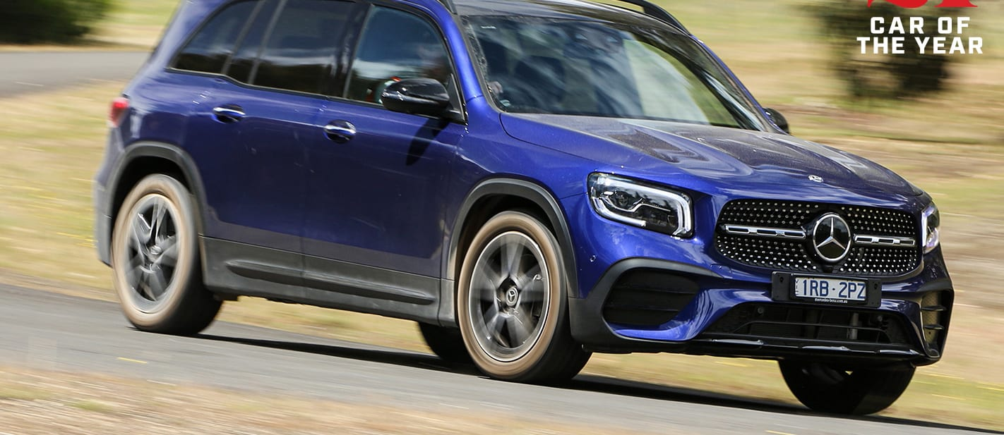 Wheels Car of the Year 2021 contender Mercedes-Benz GLB