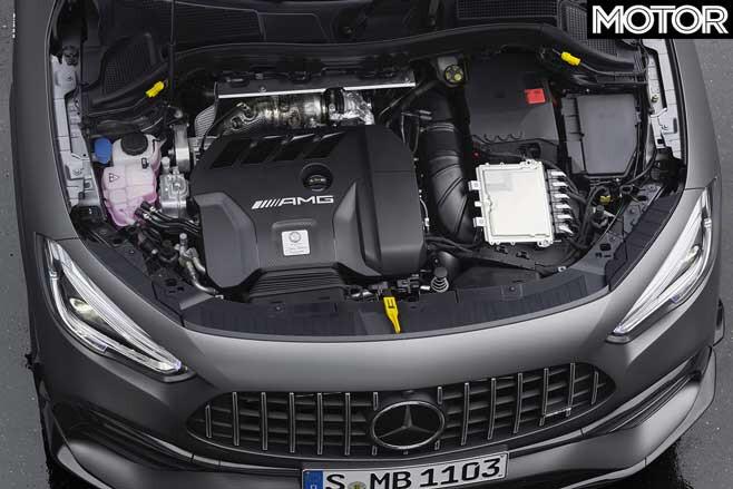 2020 Mercedes AMG GLA 45 S Engine Jpg