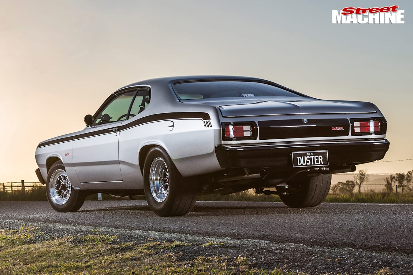 Plymouth -duster -rear