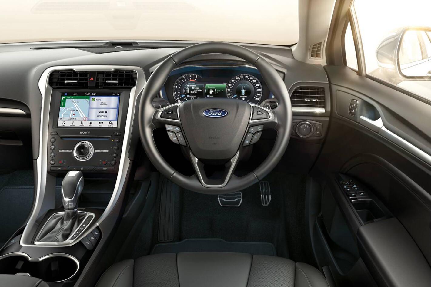 Ford Mondeo Interior Jpg