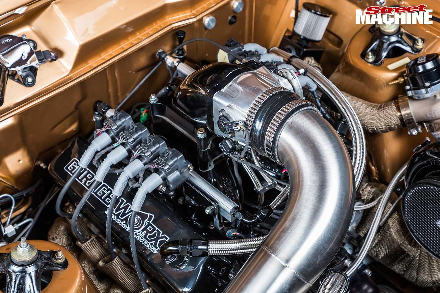 Ford XR Falcon engine bay
