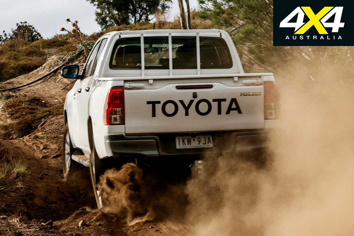 2018 Ute Test Toyota Hilux SR Rear Off Road Performance Jpg