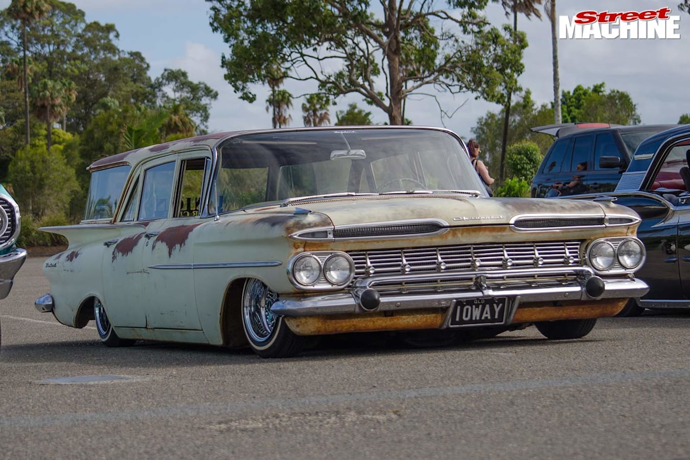1959 Chevrolet wagon project