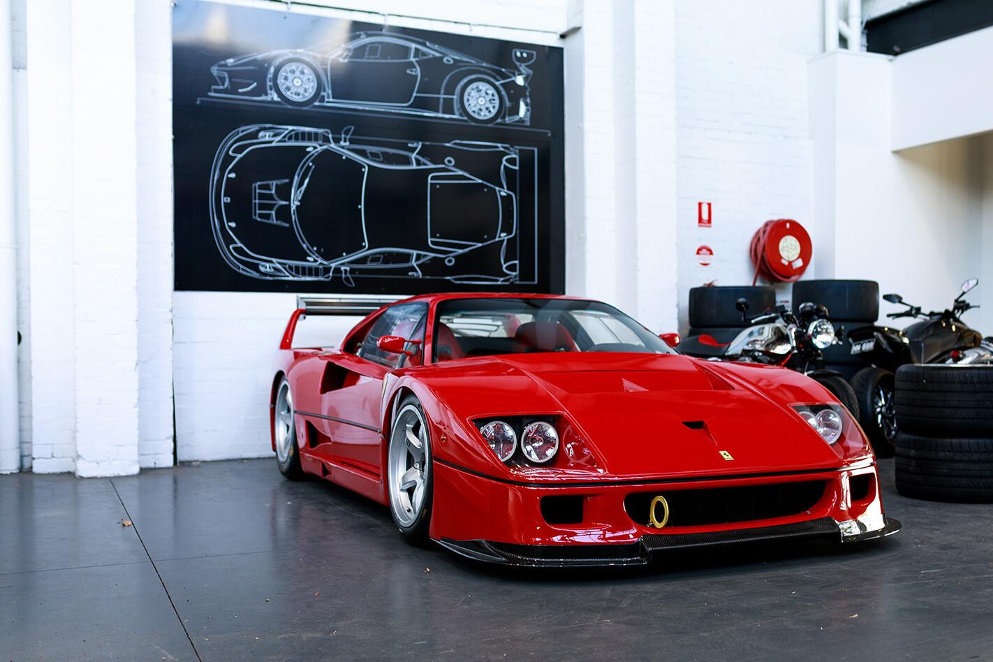 Ferrari F 40 Lm Jpg