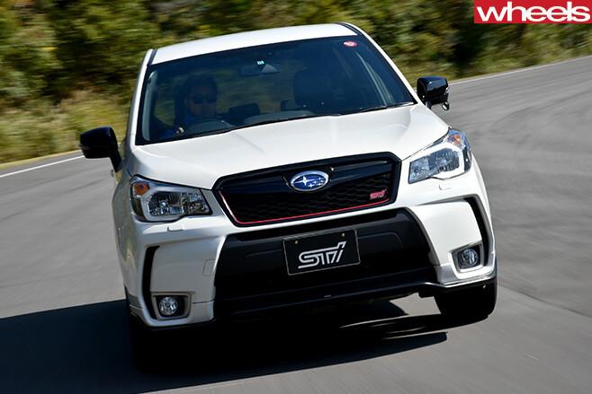 Subaru -Forester -STI