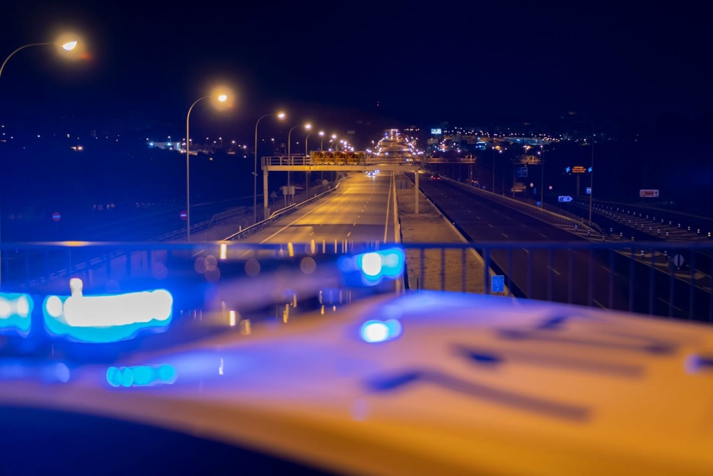 Police enforcing road laws