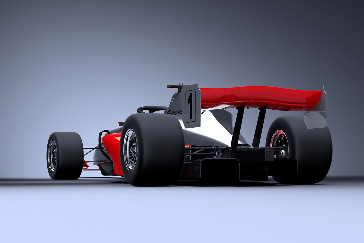 Super 5000 rear