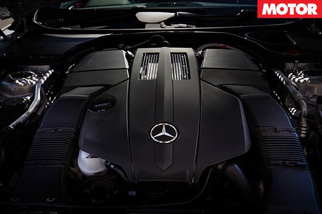 2016 Mercedes-Benz SL400 engine