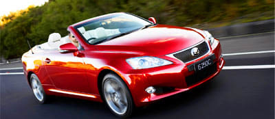 LAUNCHED: Lexus IS 250 Convertible