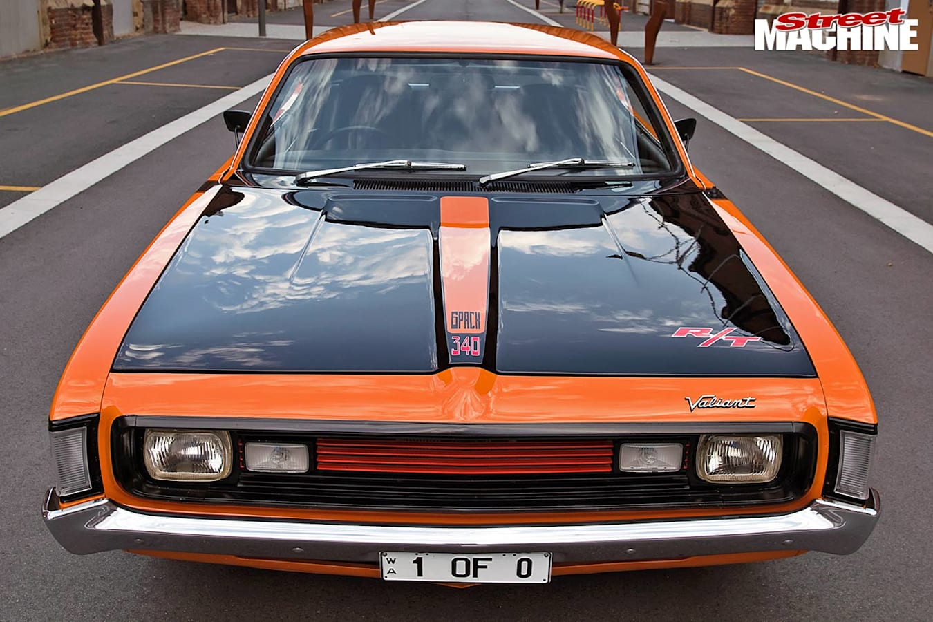 Valiant VH pacer front