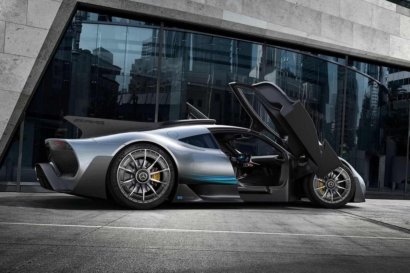 AMG Turns 50 Project One Jpg